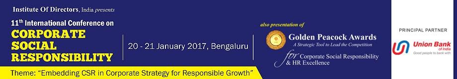 IOD, India's CSR Convention, 20-21 January - Dwarka Parichay