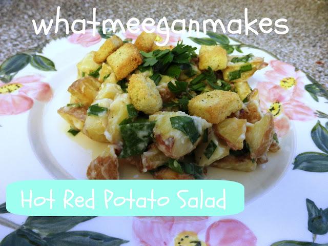 Hot Red Potato Salad