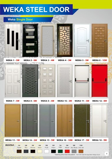 Weka Steel Door