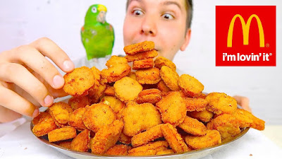 A Spoonful of Sofrito: 100 Chicken Nugget Challenge • MUKBANG