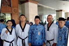 Adhitya Maulana Siap Pimpin Taekwondo Jakarta Barat Mendatang