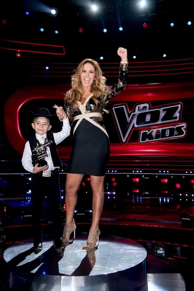 Roberto Xavier ganador de  La Voz Kids 2019