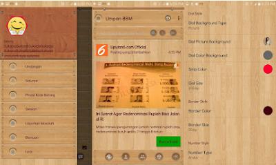 BBM Mod Wood V3.2.0.6 Apk [BBM Tema Kayu]