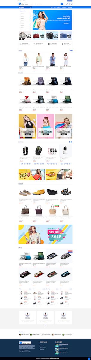 e-Commerce  PSP script CMS Sylhet Bazar