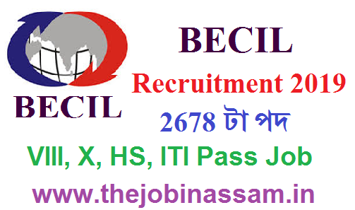 Broadcast Engineering Consultants India Limited (BECIL) Recruitment 2019