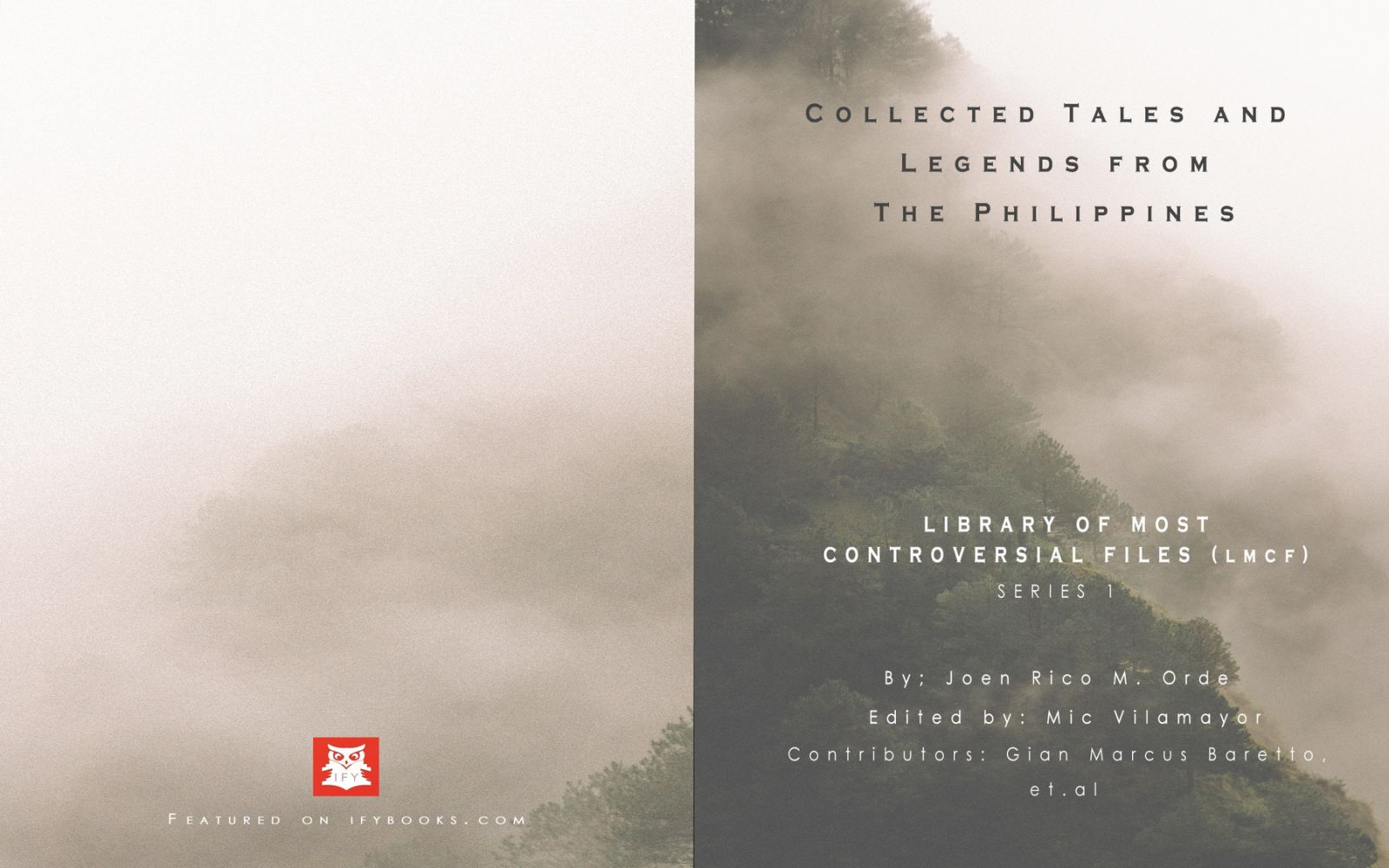 Collected Tales And Legends From The Philippines, Book Cover