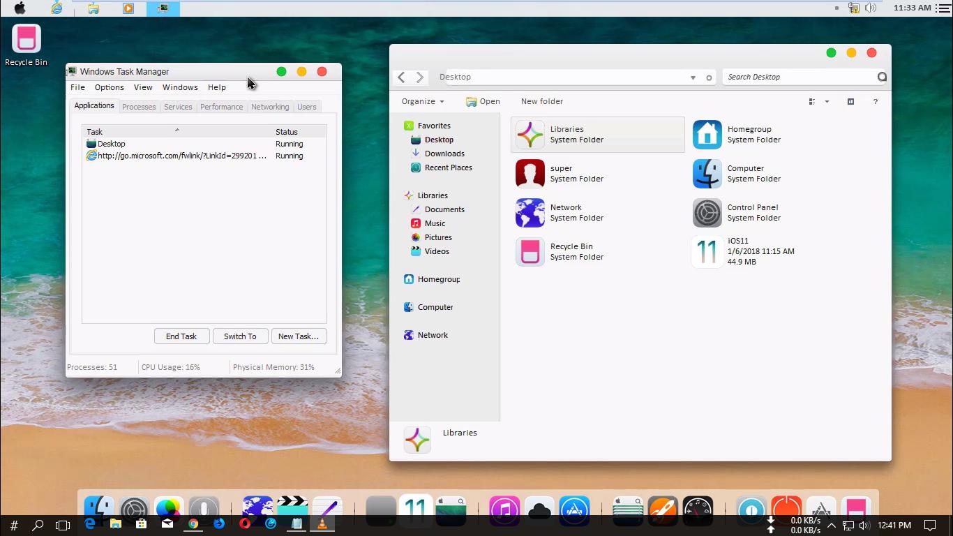 Mac-Os Theme For Your Windows 7 - Trick4Freeu