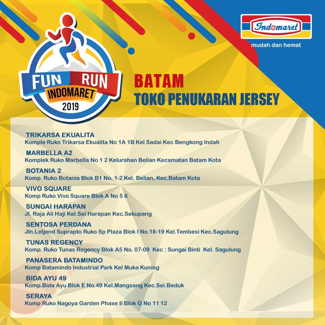 Toko Fun Run Indomaret - Batam • 2019