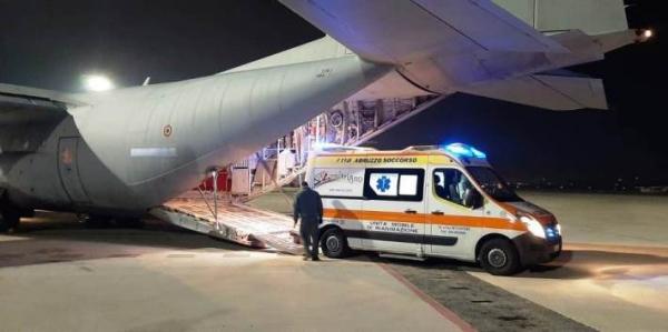 Volo ambulanza dell'Aeronautica Militare per salvare una piccola di 5 mesi