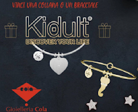 Christmas Giveaway : vinci gratis un bracciale o una collana Discover Kidult dal valore di 35 euro