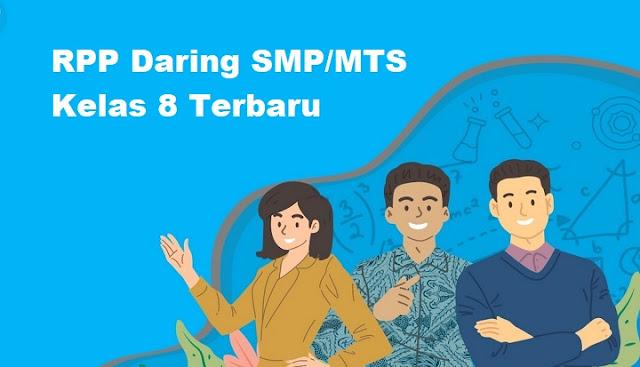 RPP Daring SMP/MTS Kelas 8 Terbaru