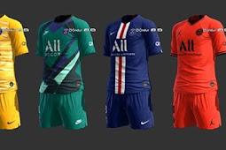 PSG Full Kits 2019-2020 - PES 2013