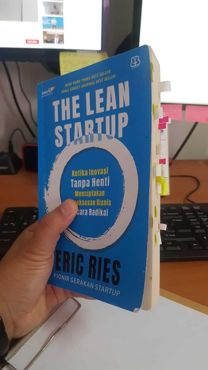 Buku The Lean Startup oleh Eric Ries