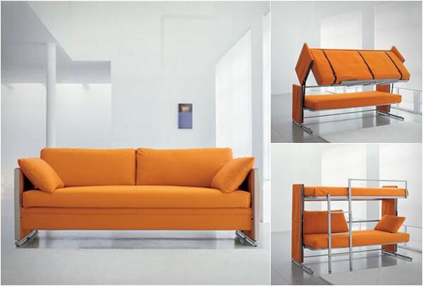 Sofa Bunk Bed - Convertible Sofa Bed