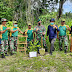 JAYA PURA: Perringati Hari Bhakti PUPR Ke 75,  Satgas Yonif MR 413 Kostrad Tanam 1000 Pohon