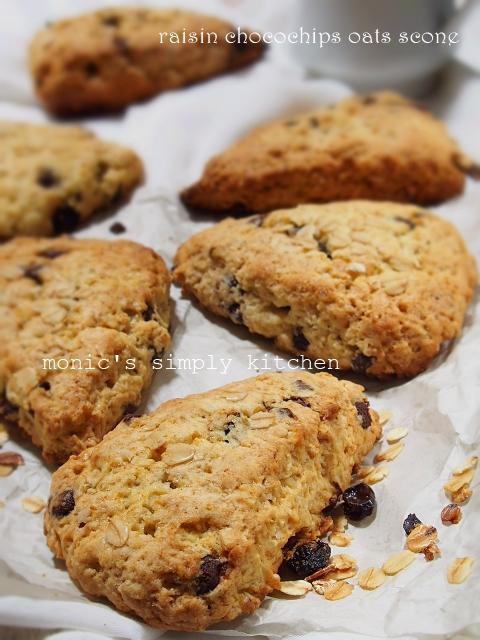 resep scones kismis chocochips