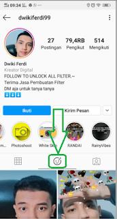 Filter ig pantun gombal | Cara dapatkan Filter pantun Gombal instagram yang merupakan filter ig viral