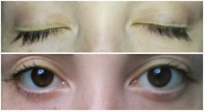 Automatic Precision Eyeliner and Khôl KIKO swatch light green 708