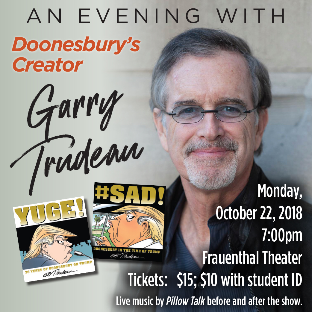 An Evening With Gary Trudeau