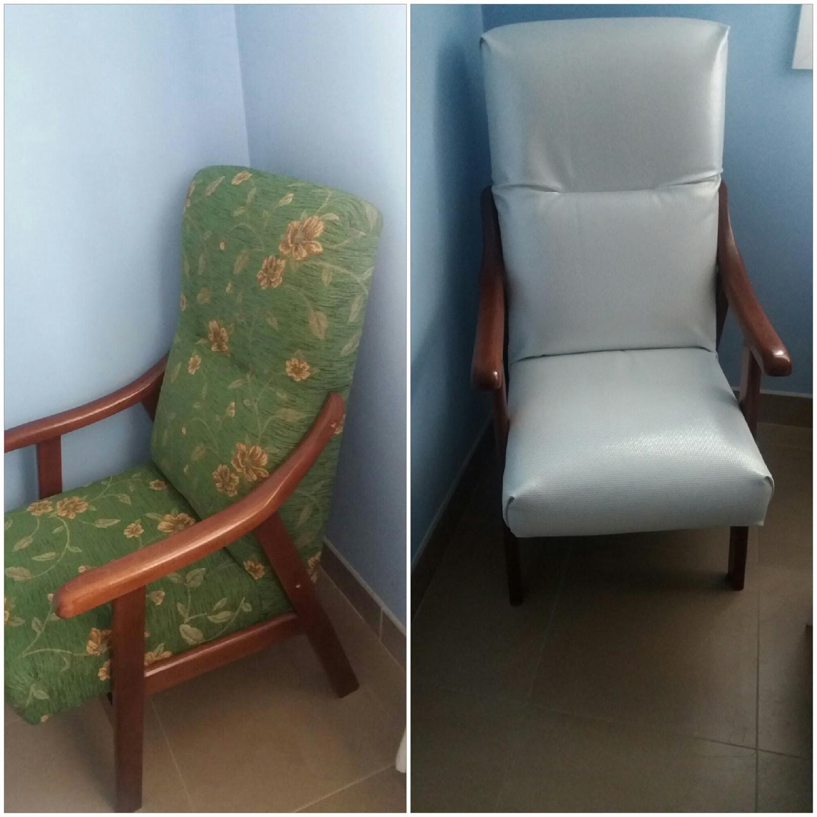 Tapizar butaca cmo tapizar una silla en piel with tapizar - Precio tapizar butaca ...