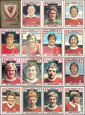 Panini England Football 78 Liverpool