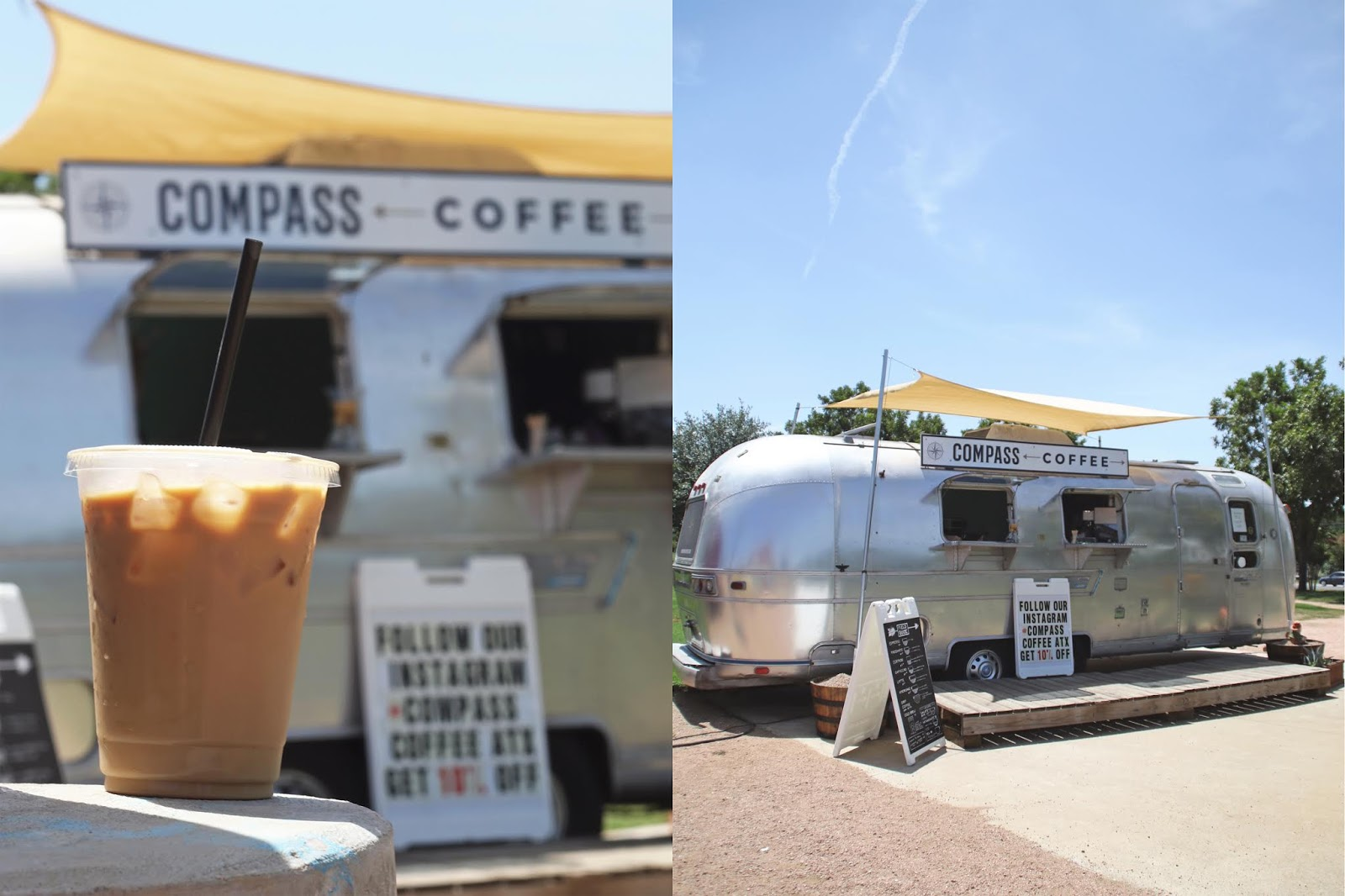 Compass Coffee Austin, Iced Coffee, Cozy Coffee Shop, Coffee Shops Vibe