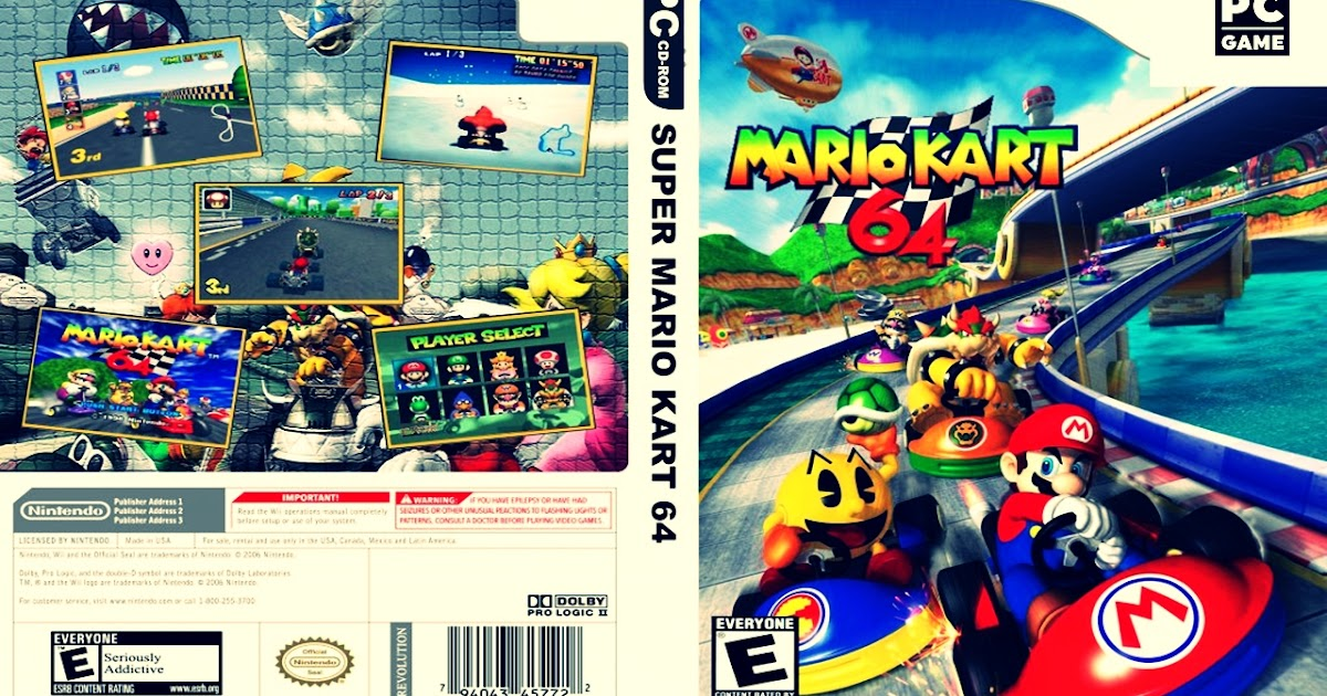 Descargar Mario Kart 64 para PC MEDIAFIRE 2020 - YouTube