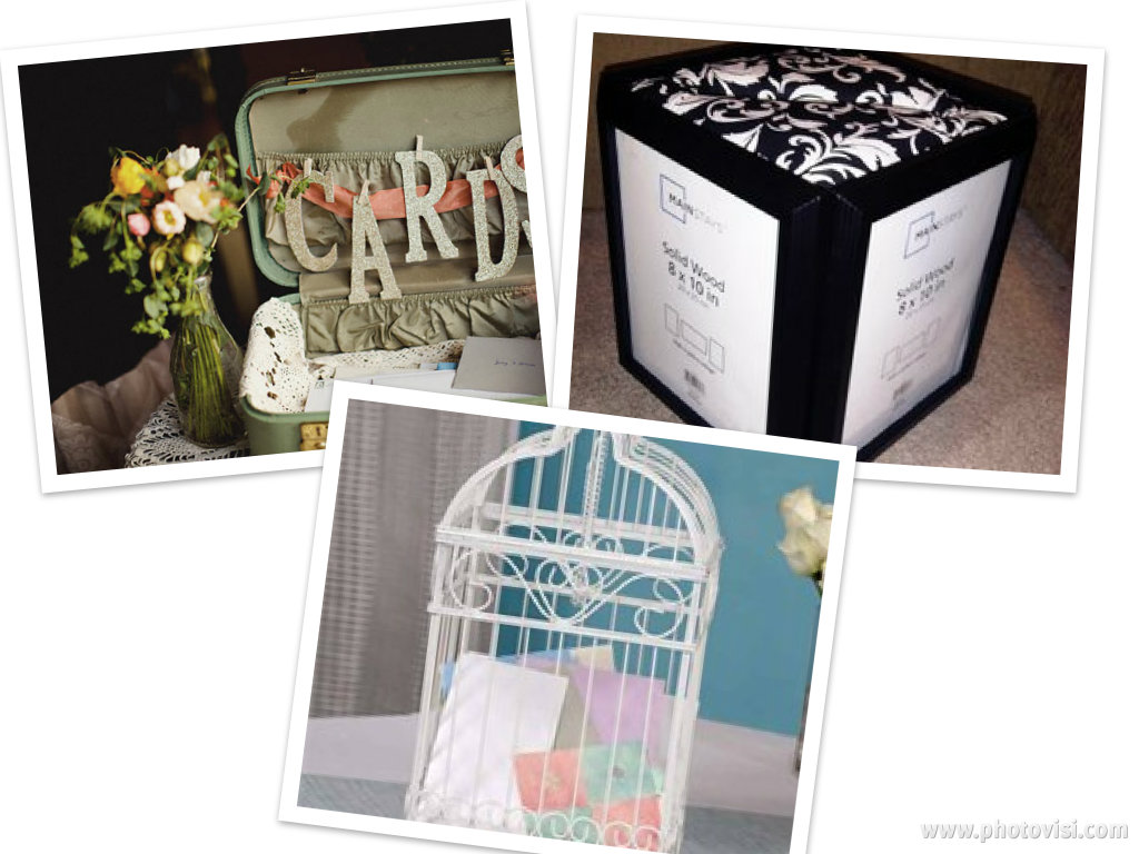 Weddings Are Fun Blog: Wedding Card Holder Ideas
