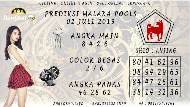 PREDIKSI MALAKA POOLS 02 JULI 2019