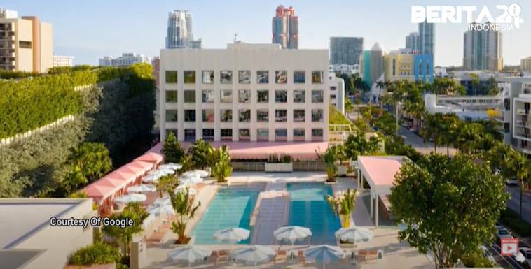 Pharrell Williams Membuka Hotel Bergaya Tropikal