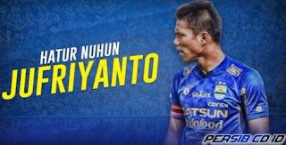 Achmad Jufriyanto Resmi Tinggalkan Persib Bandung