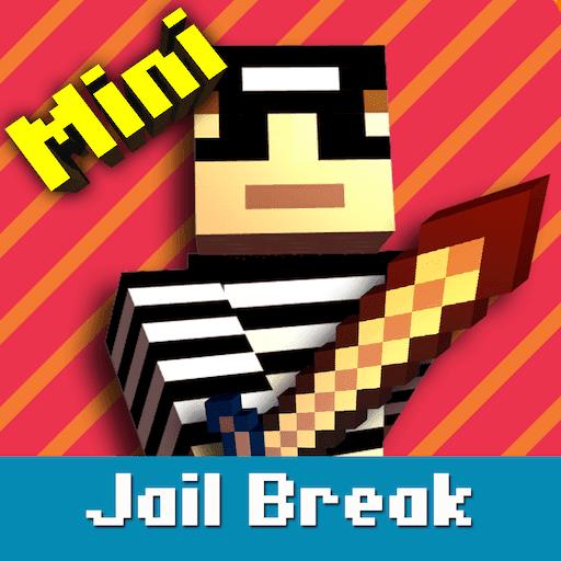 Cops N Robbers: Pixel Prison Games 1 - VER. 1.5.6 (God Mode - Instant Kill) MOD APK