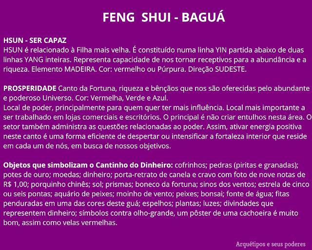 O que é ba-guá?