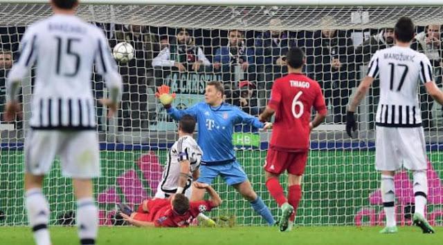 Juventus Bangkit, Bayern Tertahan di Turin