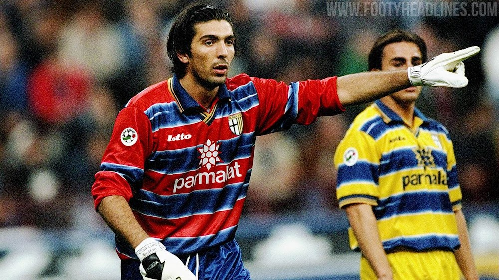 Parma 21-22 'Buffon' Keeper Kit Released - Remake of 1998-99 ...