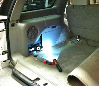 Car Audio Tips Tricks and How To's : 20002006 Chevy Tahoe Factory Sub Upgrade, JBL 8 inch