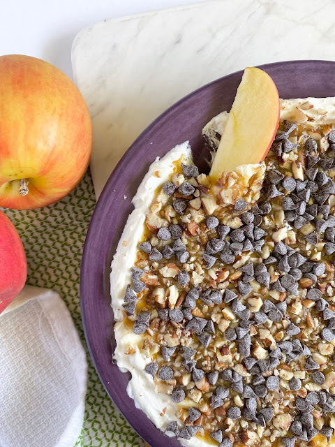 5 Minute Apple Toffee Dip