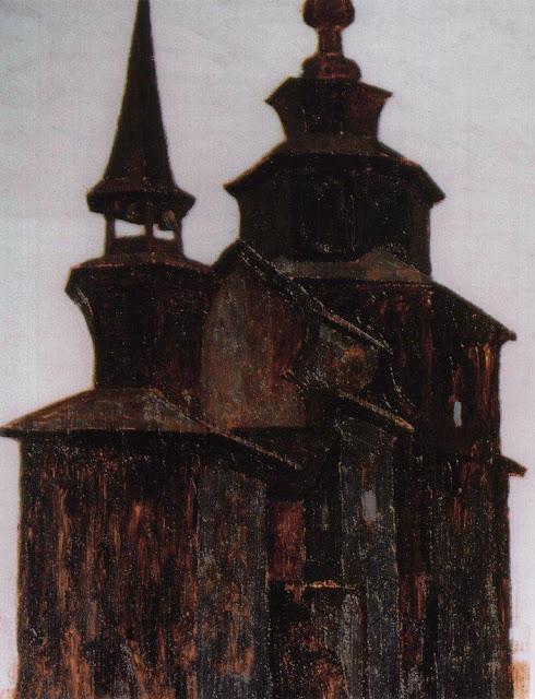 Николай Рерих - Церковь на Ишне. Ростов Великий