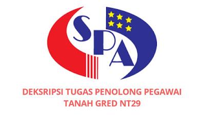 Gaji, Kelayakan & Tugas Penolong Pegawai Tanah Gred NT29