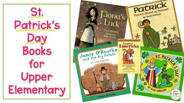 Are you looking for St. atricks's Day Books you can share with your upper elementary students? Here is a list of 7 engaging and meaningful books.