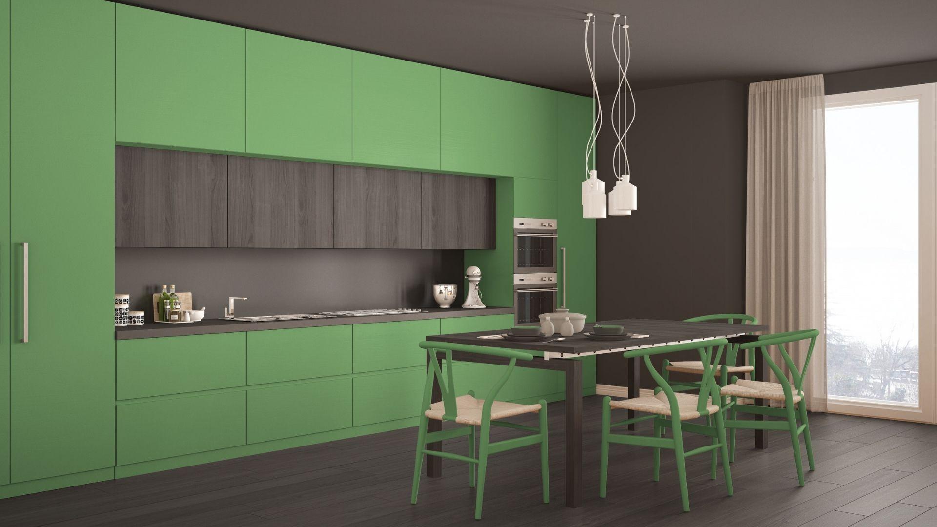 zielone kuchnie-galeria
