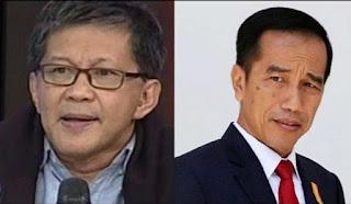 ILC TV One Panas! Rocky Gerung Bilang Jokowi Tak Paham Pancasila, Lalu Dilaporkan ke Polisi
