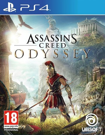 Assassin's Creed: Oddessy ps4 cover