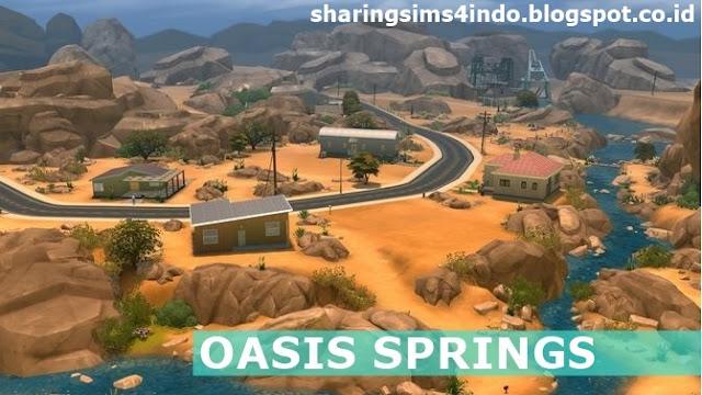 Oasis Springs Bahasa Sharingsims4indo