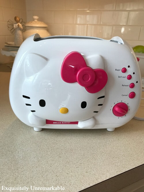 Hello Kitty Two Slice Toaster