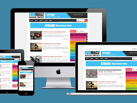 Evo Magz Blogger Template - 100% Responsive - Responsive Blogger Template