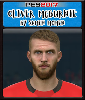 PES 2017 Faces Oli McBurnie by Sameh Momen