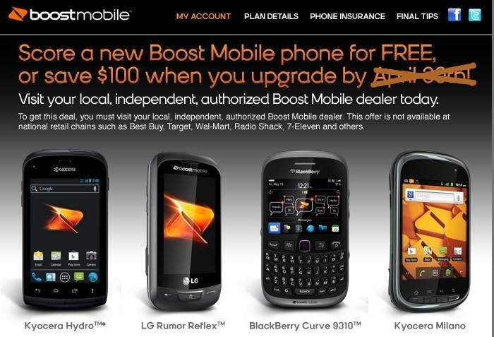 Boost Sweetens Free Phone Offer For Migrating iDEN Users