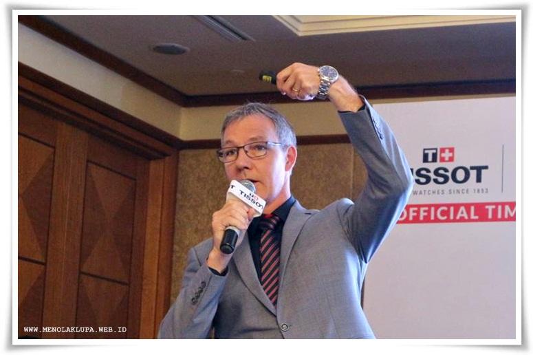 Mr. Nicolas Clerc selaku VP Product Development of Tissot