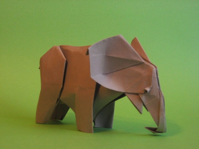 How to make an Easy Origami Elephant - DIY Paper Elephant ... | 480x640